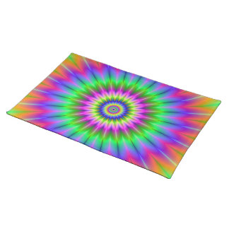 Psychedelic Supernova American MoJo Placemats