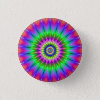 Psychedelic Supernova Button