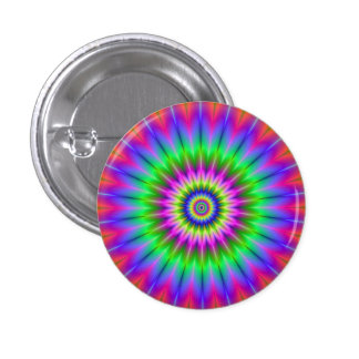 Psychedelic Supernova Button
