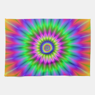 Psychedelic Supernova  Kitchen Towels