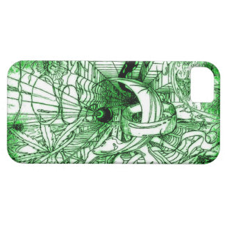 Psychedelic Surreal Funky Dali Style Drawing iPhone 5 Cover