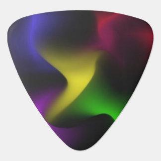 Psychedelic Swirl Guitar Pick