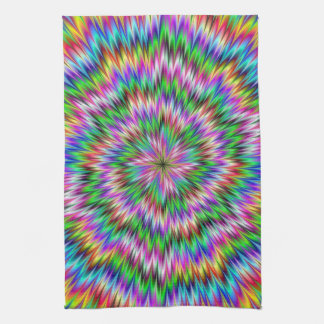 Psychedelic Swirl Kitchen Towels