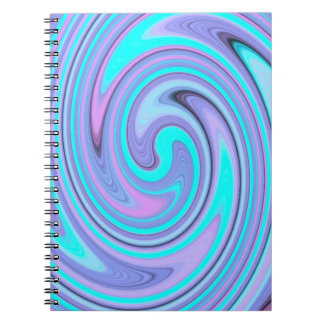 Psychedelic Swirl Notebook