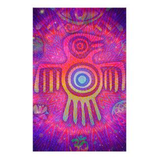 Psychedelic Symbols Stationery