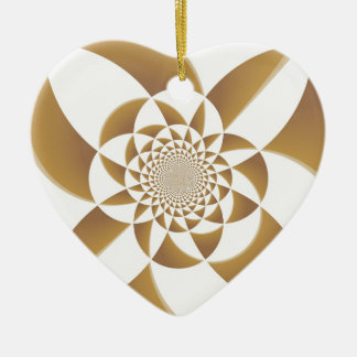 Psychedelic Tan Christmas Ornament