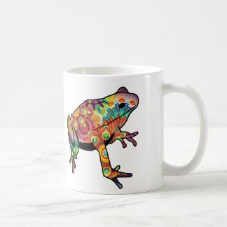 Psychedelic Themed Frog Coffee Mug