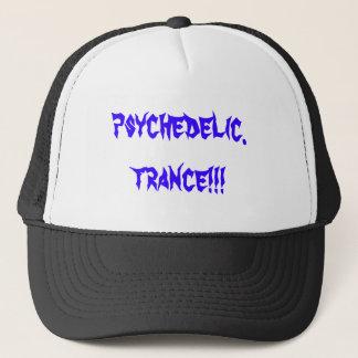 psychedelic.trance!!! trucker hat