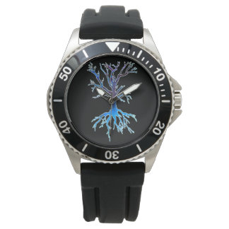 Psychedelic Tree 2 (blue) Watch