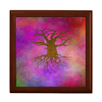 Psychedelic Tree Gift Box