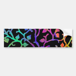 Psychedelic Tree of Life Bumper Sticker