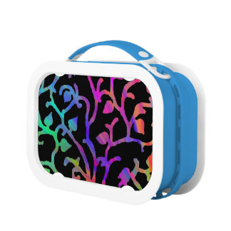 Psychedelic Tree of Life Lunch Box