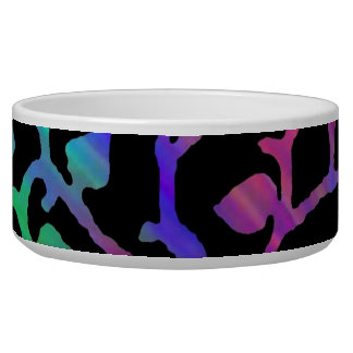 Psychedelic Tree of Life Pet Bowls