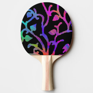 Psychedelic Tree of Life Ping Pong Paddle