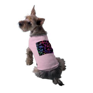 Psychedelic Tree of Life Sleeveless Dog Shirt