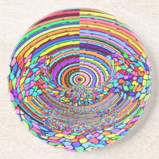 Psychedelic Trip Drink Coasters