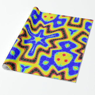Psychedelic Trippy Abstract Wrapping Paper