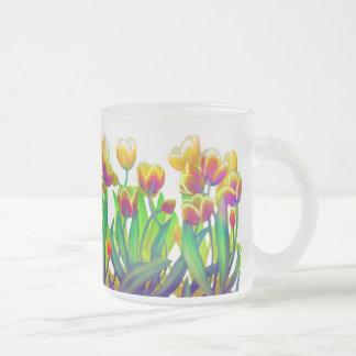 Psychedelic Tulip Garden Mug