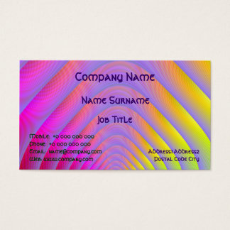 Psychedelic Tunnel Business Card