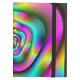 Psychedelic Tunnel iPad Case with Kickstand