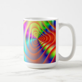 Psychedelic Twin Spirals Mug