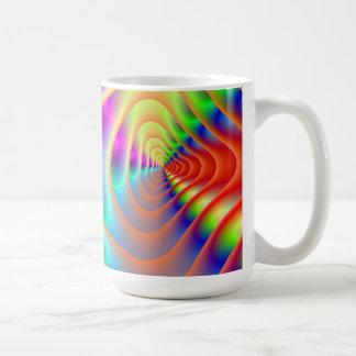 Psychedelic Twin Spirals Mug