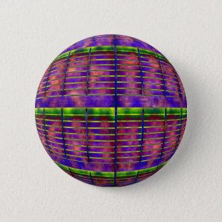 Psychedelic UFO 6 Cm Round Badge