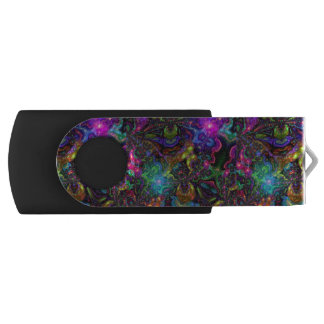 Psychedelic USB Flash Drive