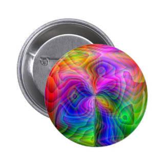 Psychedelic Vision 6 Cm Round Badge