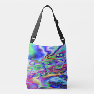 Psychedelic Vision Crossbody Bag
