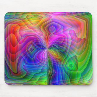 Psychedelic Vision Mouse Pad