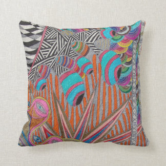 Psychedelic Visions Cushion