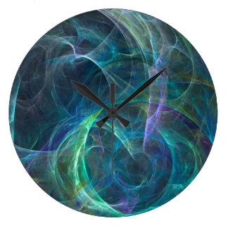 Psychedelic Vortex Clock
