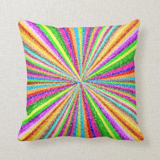 Psychedelic Vortex Cushion