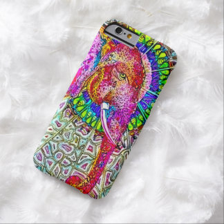 Psychedelic Watercolor Elephant iPhone 6 Case