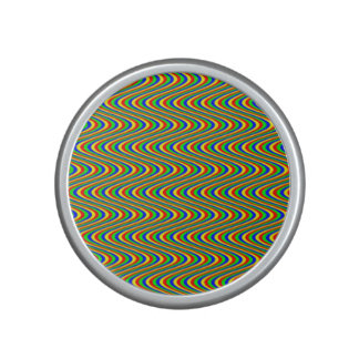 Psychedelic Waves Bluetooth Speaker