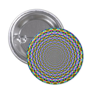 Psychedelic Web Button