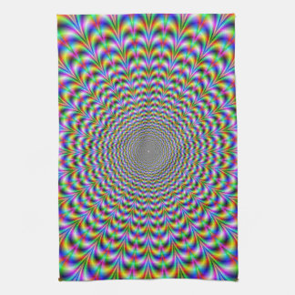 Psychedelic Web Kitchen Towels