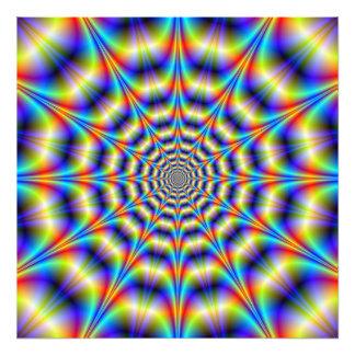 Psychedelic Wheel Photo Print