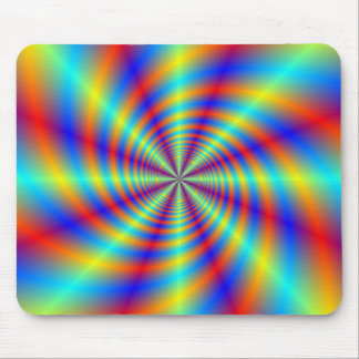 Psychedelic Whirl Mousepad