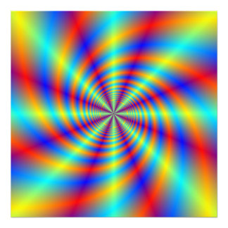 Psychedelic Whirl Photo Print