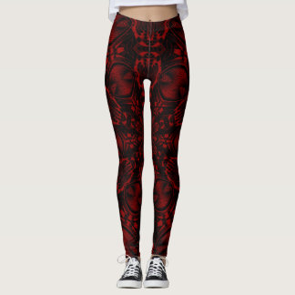 Psychedelic Wine Leggings