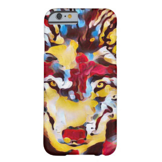Psychedelic Wolf Shaman Abstract Art iPhone 6 Case