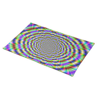 Psychedelic Worm Hole American MoJo Placemats