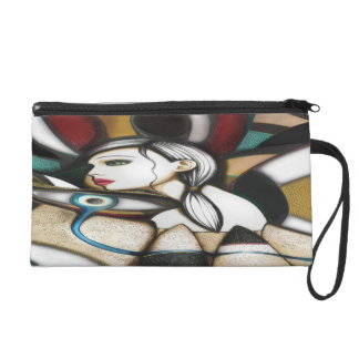 Psychedelic Wristlet