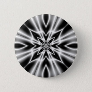 Psychedelic X-Ray Flower 6 Cm Round Badge