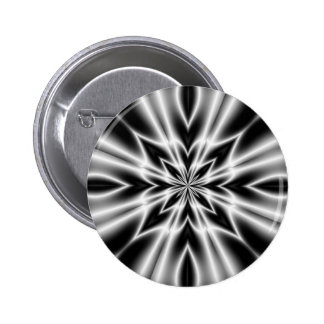 Psychedelic X-Ray Flower Buttons