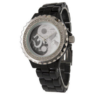 Psychedelic Yin & Yang Watch