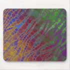 Psychedelic Zebra Abstract Pattern Mouse Mat
