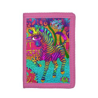 Psychedelic Zebra Wallet